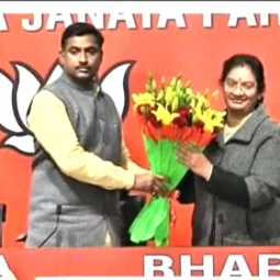 sasikalapushpa  mp join with bjp party in delhi