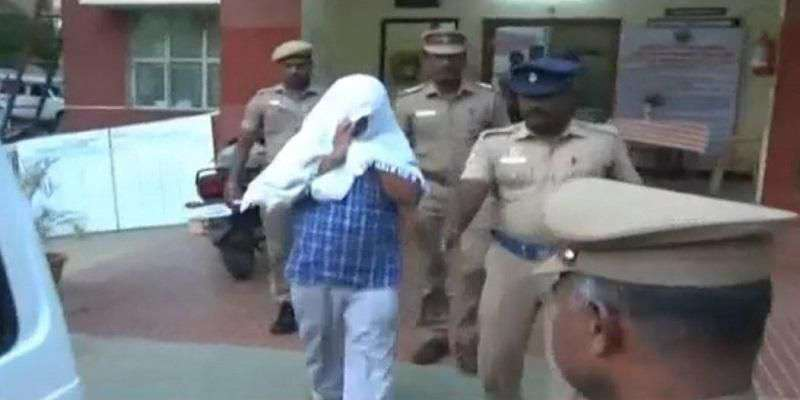 Karur Professor arrested for sexually harassing college students