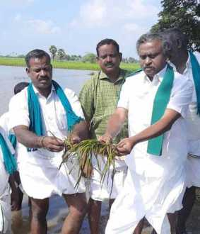 Farmers union leader P.R.Pandiyan