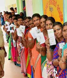 Polling started in 15 constituencies in Karnataka