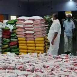 401 tonnes rice peoples cuddalore dmk party