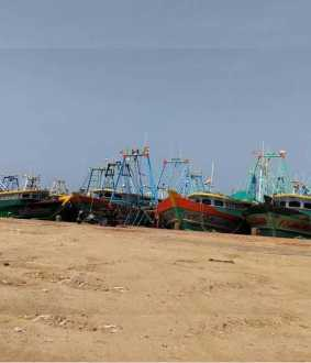 Undocumented boat in Karaikal port being used for smuggling