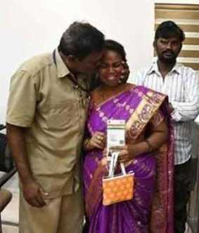 andhra girl meets her parents after twelve years