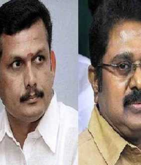 ttv dinakaran verses senthilpalaji... Election situation