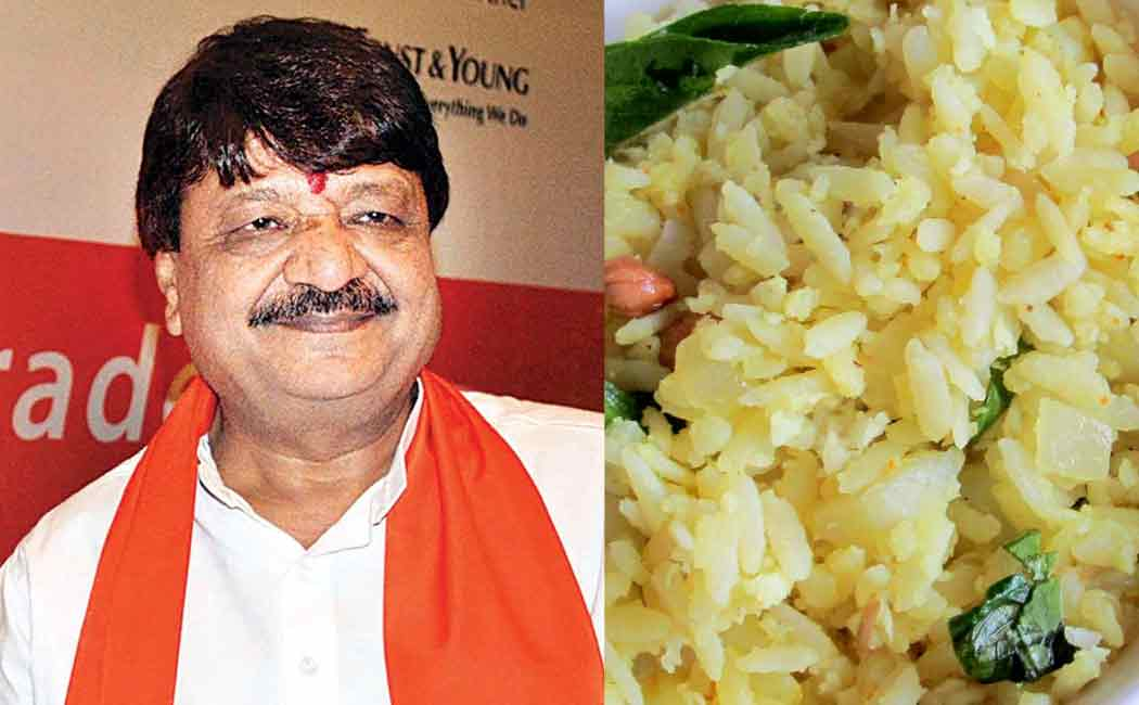 Kailash Vijayvargiya remark about poha and bangladeshis