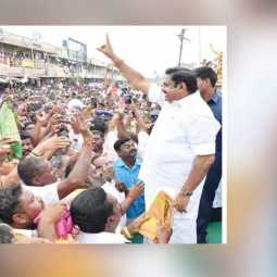 TAMILNADU CM PALANISAMY SUCCESSFULLY GOVERNMENT UNDER WAY ON 4TH YEAR