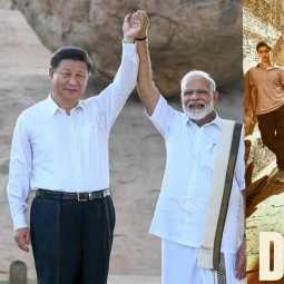 modi and xi xinping discuss about dangal movie