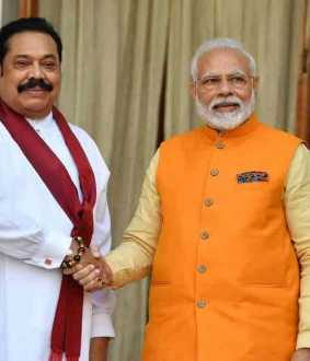 modi wishes mahinda rajapaksa on election results