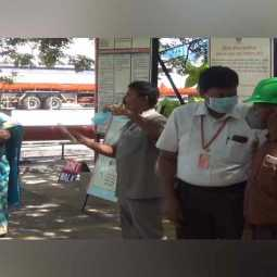 Awareness program at Indian Oil Corporation