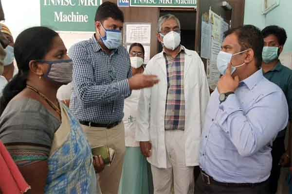 Nagai Hospital patients who complained to the Joint Secretary of the Health Department