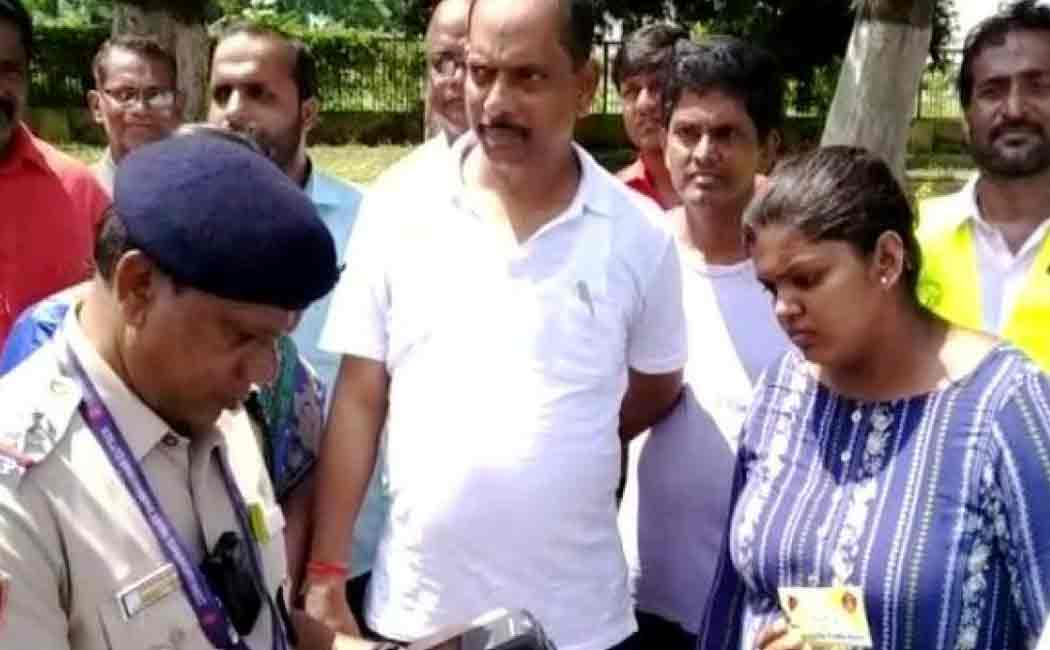 odisha mla fined for breaking traffic rules