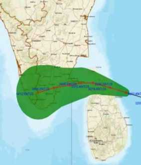 burevi cyclone ramanathapuram district