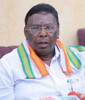 '' Those who join BJP will disappear '' - Chief Minister Narayanasamy !!