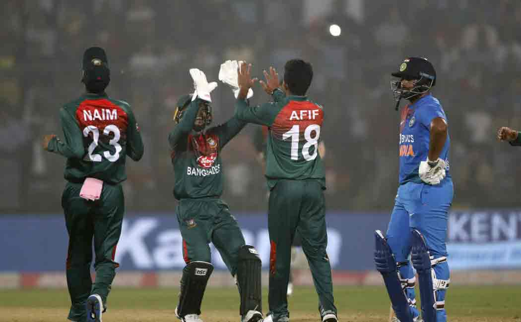 india bangladesh second t20 match may get affected by maha cyclone