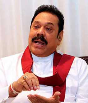 Mahinda Rajapaksa becomes the Prime Minister of Sri Lanka