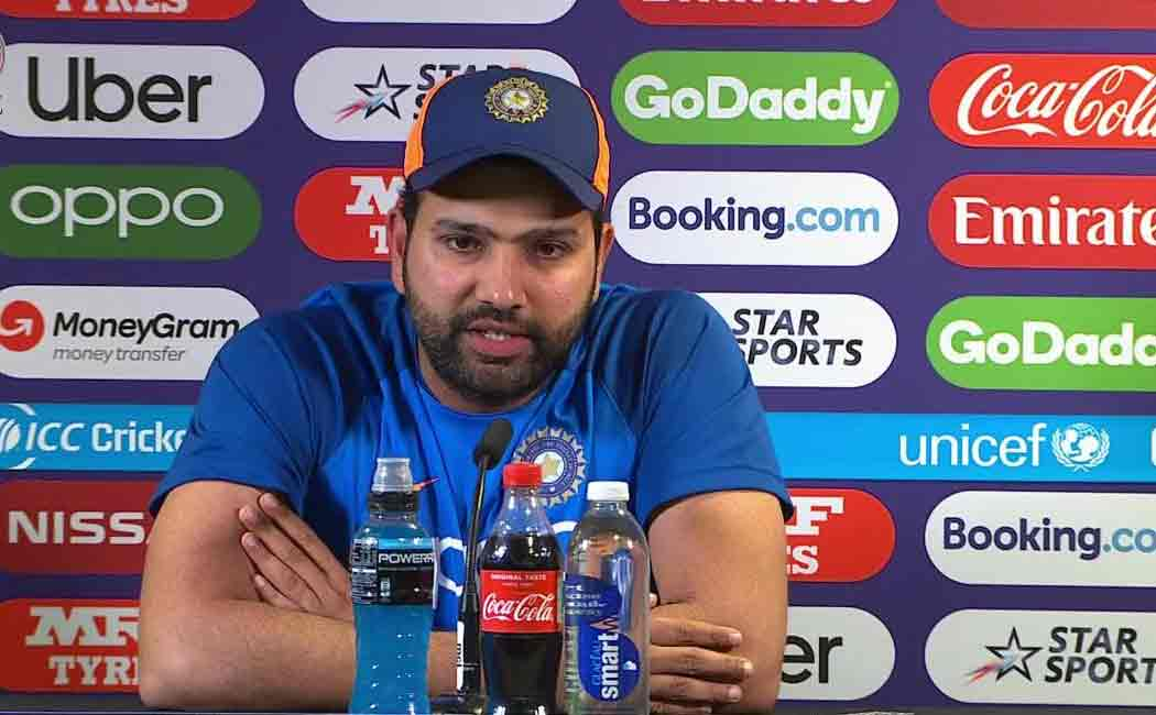 rohit sharma press meet about india england match