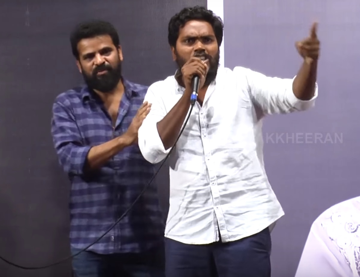 pa.ranjith on stage