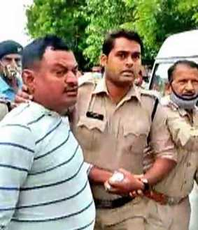 vikas dubey confession to police