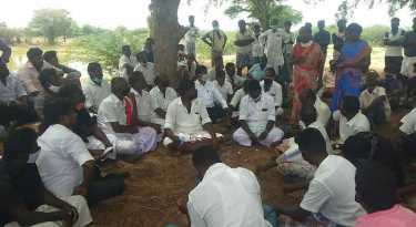 villagers demand justice and relief