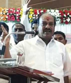 DMK MP Jagathratchekan speech at pondicherry about pondicherry assembly election