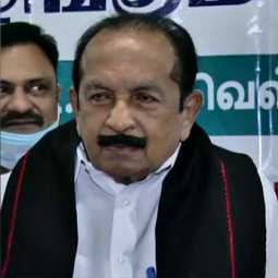 Congress-led coalition? -Vaiko replied
