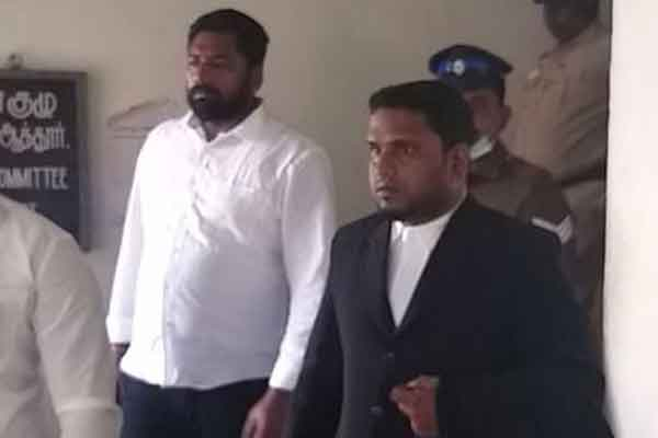 Wanted person Raja surrenders in salem district court