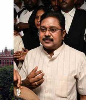 chennai high court ammk party registration india election commission