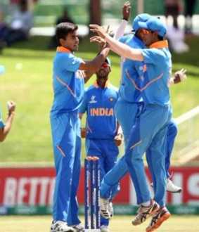 junior world cup cricket match semi final qualified india team