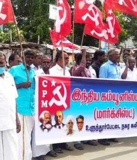 cpm supports farmers and demands various things