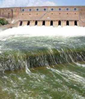 salem mettur dam water level