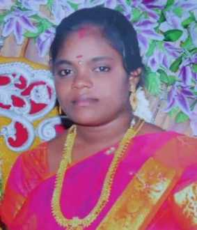Wife passes away trichy thillai nagar police searching for husband