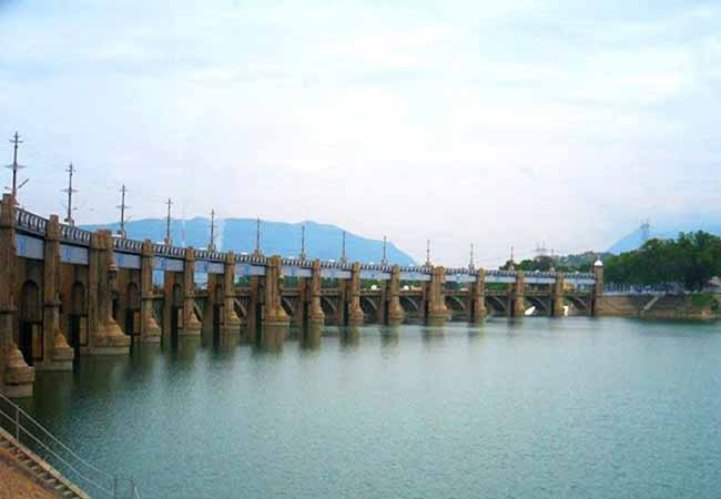 salem district mettur dam water level high