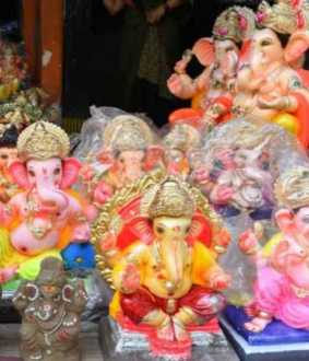 vinayagar chaturthi celebration in india temples peoples