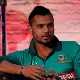 mortaza press meet before the match against india