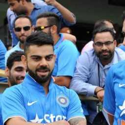 kohli breaks dhonis test match record