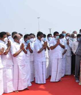Governor and Chief Minister pay homage to Mahatma Gandhi's 152 birthday .. (Pictures)