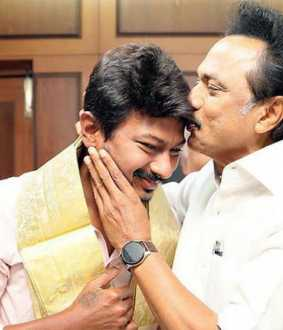 mkstalin with udhayanidhi