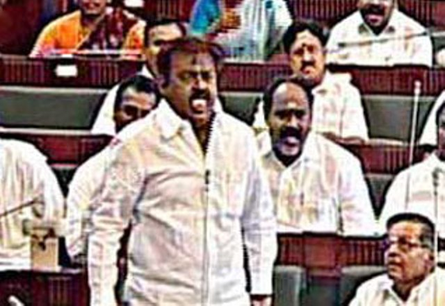 vijayakanth in assembly