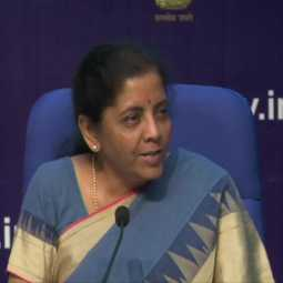 union finance minister nirmala sitharaman press meet based on economic speech