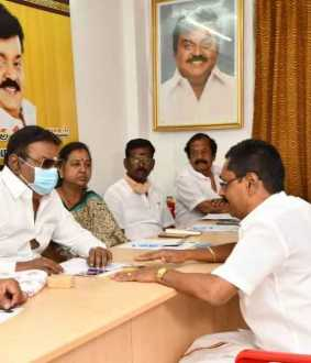 vijayakanth conducting interview