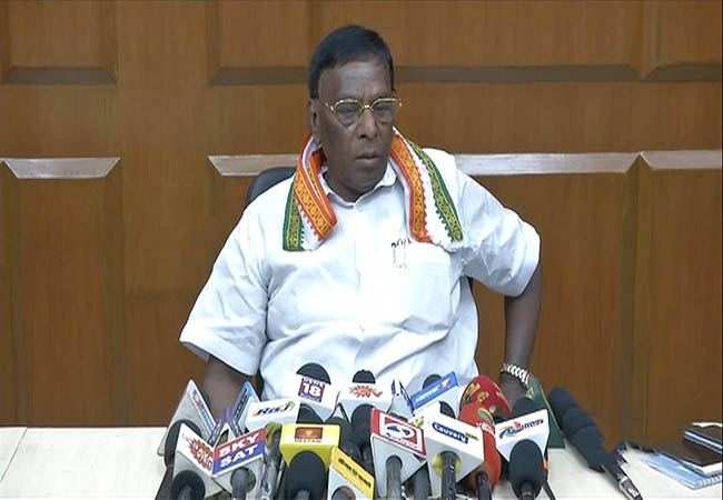 If the dam is built in Megadadu, the court will block - Chief Minister Narayanaswamy!