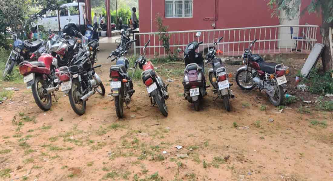 Case against 21 youth involved in bike race on Vadavalli-Maruthamalai road