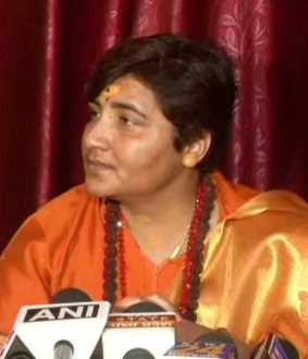 bhopal District Election Officer issued a notice to BJP candidate Pragya Singh Thakur