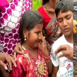 mettupalayam accident -the little girl's tears!