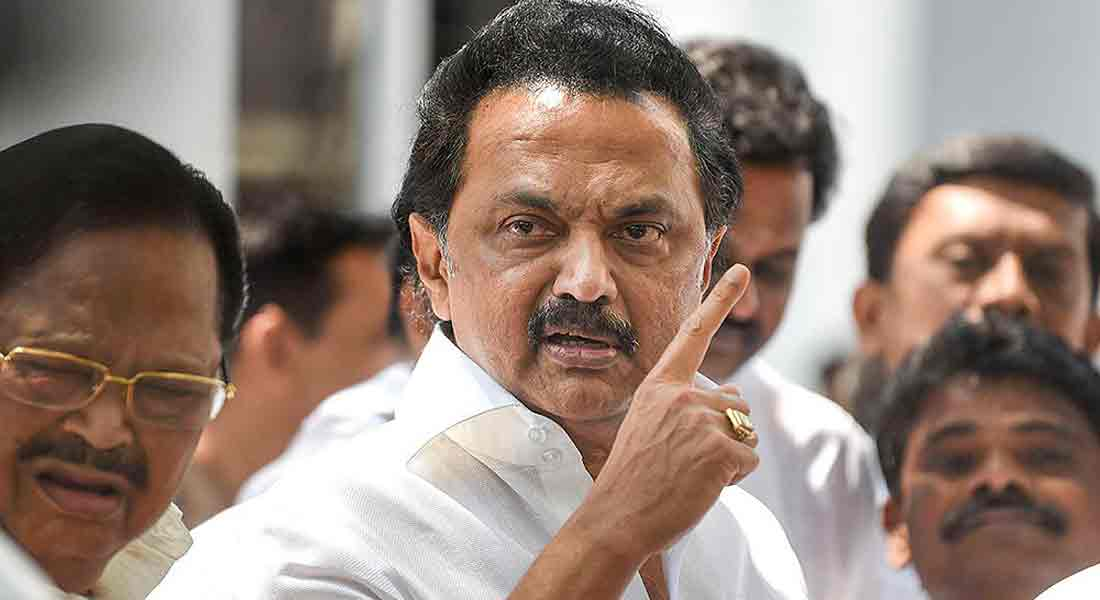 Nellai next to Chennai;  do not play with People life-stalin