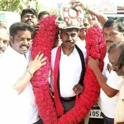 AV Velu's son's birthday ... Praised as future MLA !!