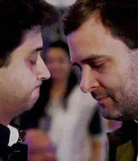 rahul gandhi on jyothiraditya scindia joining bjp