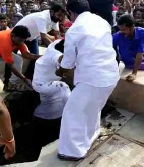 Accident at a function attended by Minister Selur Raju in Madurai