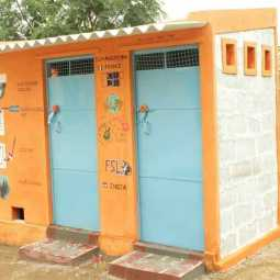 toilets constructed under swachh bharat is missing in madhyapradesh