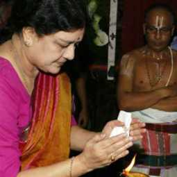Sasikala at Sankara madam...